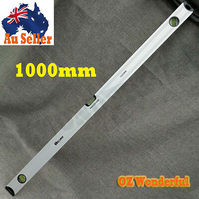 1000mm Level Sturdy Spirit Level with 3 Vials Measure Tool Light Weighted NEW