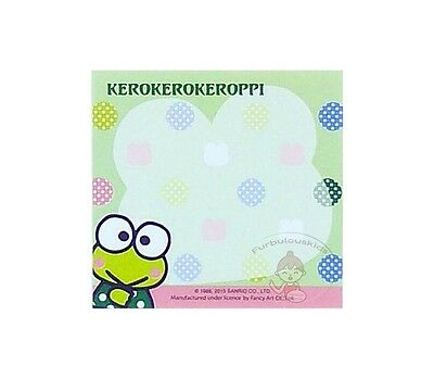 Pretty Sanrio Kerokerokeroppi 40 Sheets Notepad/memo Pad/cute Note #g