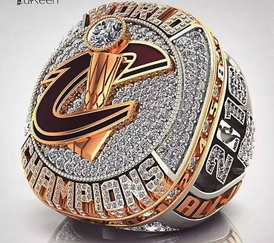 2016 the Cleveland Cavaliers Basketball Championship Ring MVP LeBron James