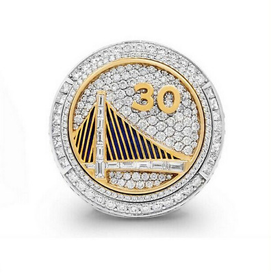 2015 Golden State Warriors Steph Curry Basketball Replica Ring