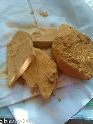 ART Yellow OCHRE PIECE FROM South Australia 240 gms total