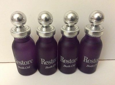 Marks & Spencer Restore Bath Oil  Four Pack New