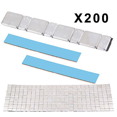 200 High Quality Adhesive Lead Free 60G Strips Stick On Wheel Balance Weights