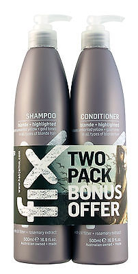 NEW FIX Blonde/Highlighted Shampoo & Conditioner Duo 500ml