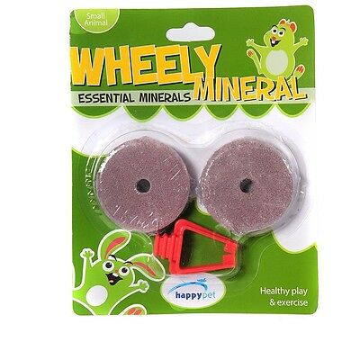 HappyPet Wheely Miineral, minerales  para Roedores