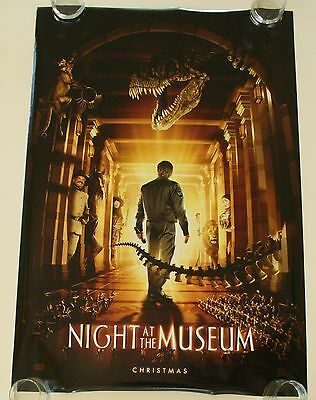 Night At The Museum 27X40 Ds Movie Poster One Sheet New Authentic