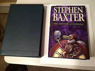 Stephen Baxter  SIGNED 1st ed. The Hunters of Pangaea  in Slipcase & DW