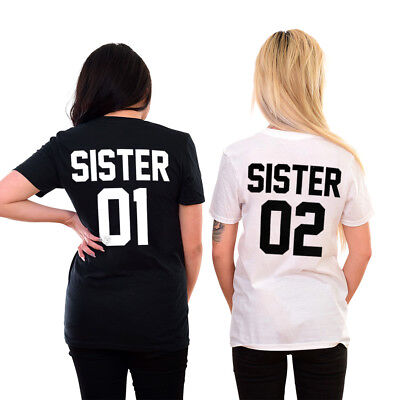 Sisters Shirts Matching Family Best Friends BFF's Besties Girl Gang Sister 01