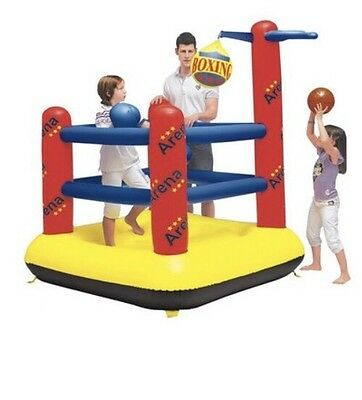 Sports Arena Bouncy castle - New At Bargain Price
