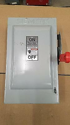 Siemens HNF362 60A 600V Heavy Duty Non-Fusible Safety Switch