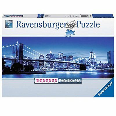 Ravensburger Panorama Puzzle New York  Illuminata 1000 Pezzi   Art 15050