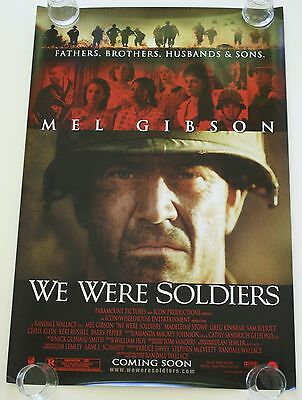 We Were Soldiers 27X40 Ds Movie Poster One Sheet New Authentic