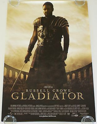 Gladiator 27X40 Ds Movie Poster One Sheet New Authentic