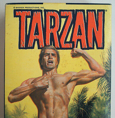 Aurora Tarzan all Plastic Assemble Kit 1967 sehr selten in Box