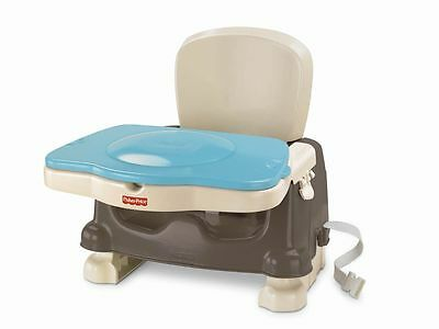 Fisher-Price Healthy Care Deluxe Booster Seat, Brown/Tan