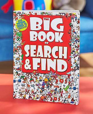 The Big Book of  Search and Find Games Fun Kids Family Activity