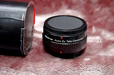 Albinar 2X Tele-Converter For Canon AE-1, A-1, FT,  F1 others
