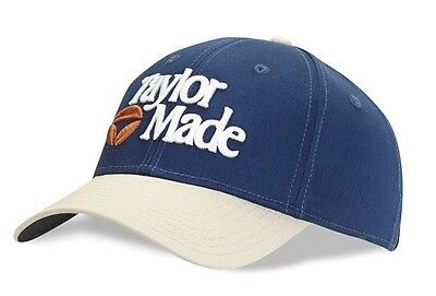 #BRAND NEW# TaylorMade golf traditional 1983 cap/hat- Blue - Unisize