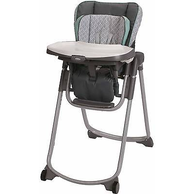 Graco Slim Spaces Space Saver High Chair, Manor