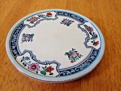 Keeling & Co Losol Ware Teapot Stand - Romney Pattern - Good Used Condition