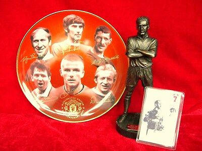 Manchester United Gift Collection Ltd Edition Eric Cantona & Danbury Mint Plate