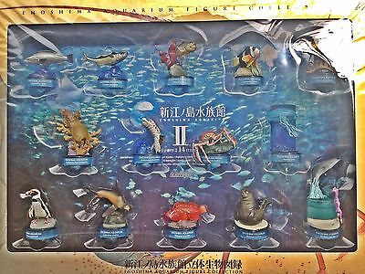 Kaiyodo Enoshima Aqurium Figure collection Exclusive box set 2