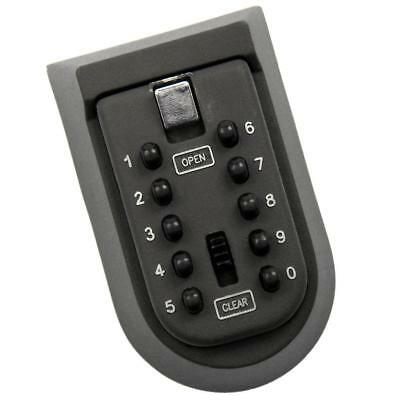 Outdoor Wall Mounted Safe Key Box Push Buttom Password Lock Case Home/Car