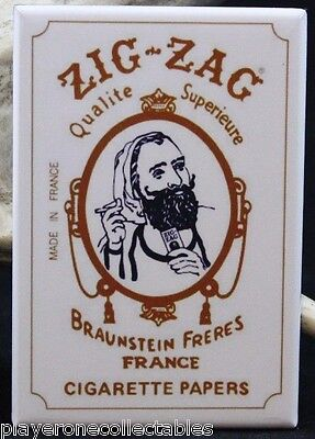"Zig Zag Man - 2"" X 3"" Fridge / Locker Magnet. Tobacco Marijuana Cannabis"