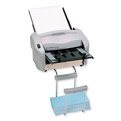 "Martin Yale P7200 RapidFold Auto Feed Desktop Folder Grey For Use with 8 1/2""..."
