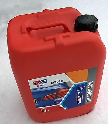 20L BMW Longlife 5w30 LONGLIFE 3 Oil - 5w/30 - 20 Litres LL-04 - UK Product