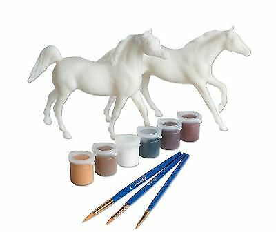 """Paint Your Own Breyer My Dream Horse White 6 x 4"""""""""""