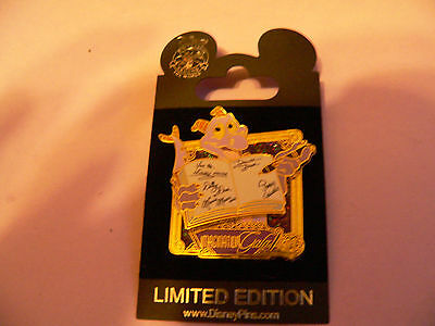 FIGMENT Autograph Book - WDW - Imagination Gala Welcome Gift LE 1100 Disney Pin