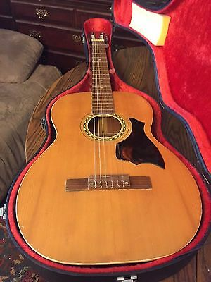 Very rare Knox classical guitar with case, Japan