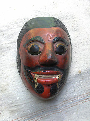 Old Carved Wood Balinese Dance Mask