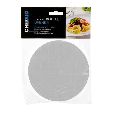 NEW Chef Aid Rubber Jar Bottle Gripper Opener Non Slip