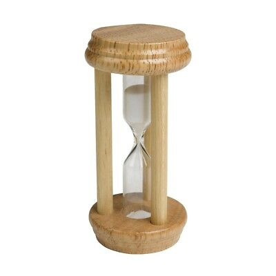 NEW Chef Aid Traditional Kitchen Egg Sand Timer 3 Minute Wooden