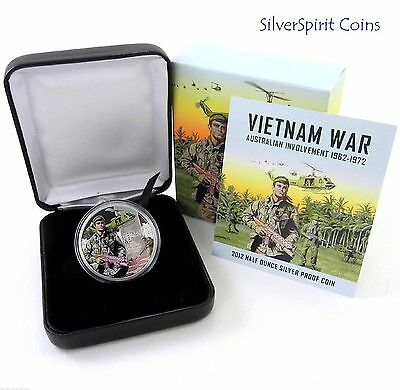 2012 VIETNAM 1/2oz Silver Proof Coin