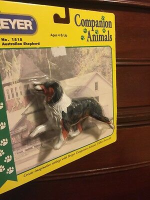 Breyer Traditional Awesome Blue Merle Australian Shepherd Dog #1515 New 00-06