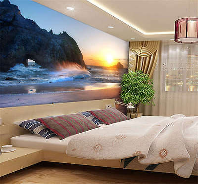 Sunset Big Sur California Full Wall Mural Photo Wallpaper Ki Print Home 3D Decal