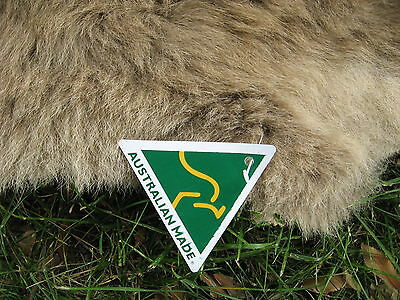 Kangaroo Skin Rug Throw Mat Souvenir Med/ Lge Export Quality Australian Made