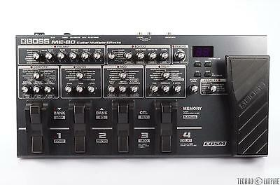 BOSS ME-80 Guitar Multiple Effects Floor Processor #26481