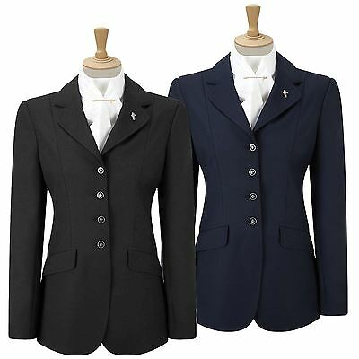 Caldene Equestrian Horse Riding Competition Women Gatcombe Flattering Fit Jacket