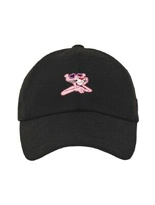 Stereo Vinyls X Pink Panther Black Wool Cap Unisex Hat Fall Winter 2017 Edition
