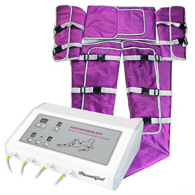 Pressotherapy Suana Suit Lymph Drainage Body Slimming Air Pressure Machine Newly
