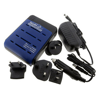 Soshine S1 MAX V3 18650 AU Lithium Ion Battery Charger 1-4 cells + car charger