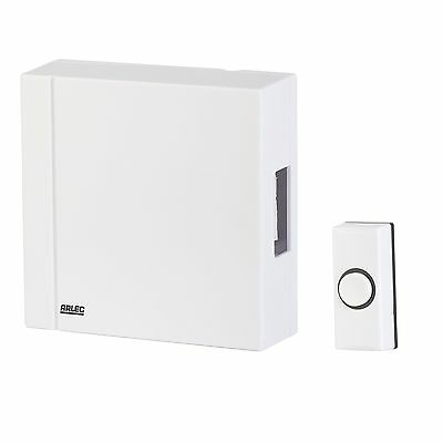 Arlec SMALL WIRED DOOR CHIME Easy Install, Ding-Dong Sound