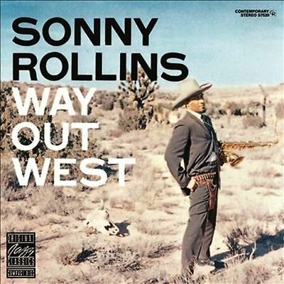 SONNY ROLLINS Way Out West Vinyl LP 2014 (9 Tracks) NEW & SEALED
