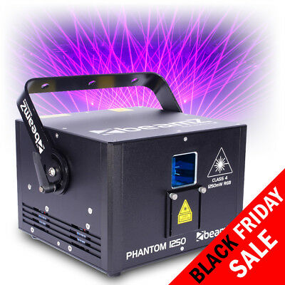 Professional DJ Club Disco Laser Light Pure Diode RGB Analog Modulation 30kpps