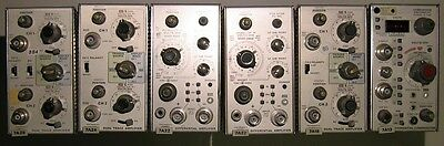 1 Tested Tektronix module 7000 series 7A26 7A24 7A18 dual trace amplifier