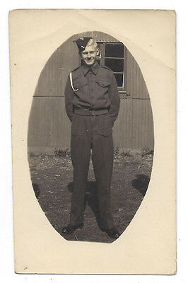 Young British Army Soldier - Vintage Photograph c1930s